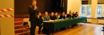 """Spotkanie mieszkańców dzielnicy """"Białogon"""" z Prezydentem Kielc"""